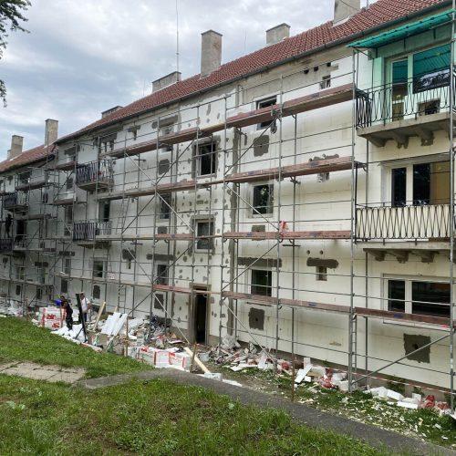 Výmena okien bytový dom